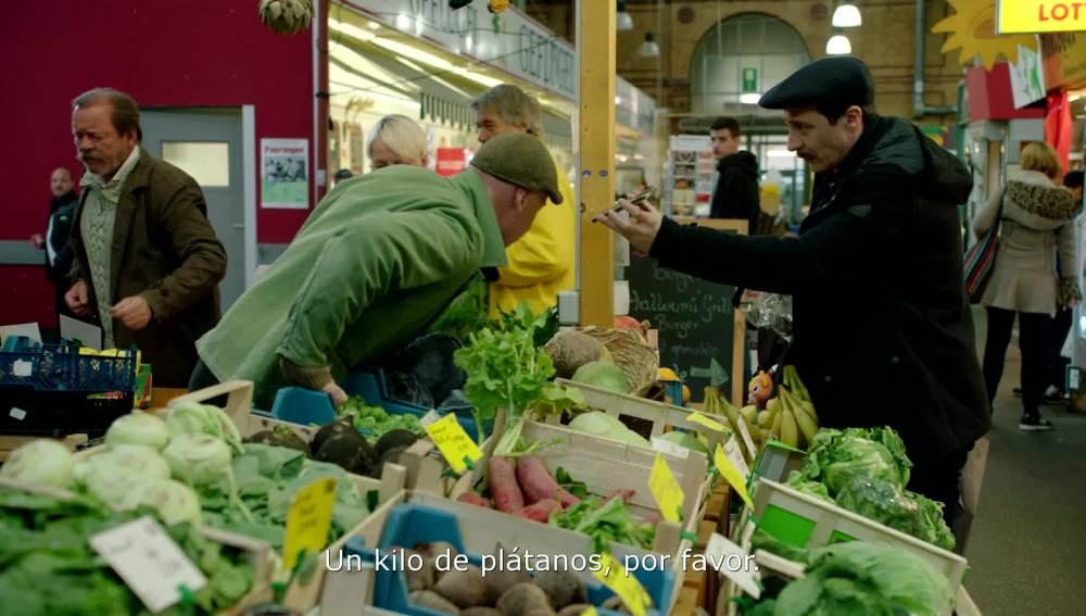 Lucas quiere plátano de Canarias en pleno Berlín
