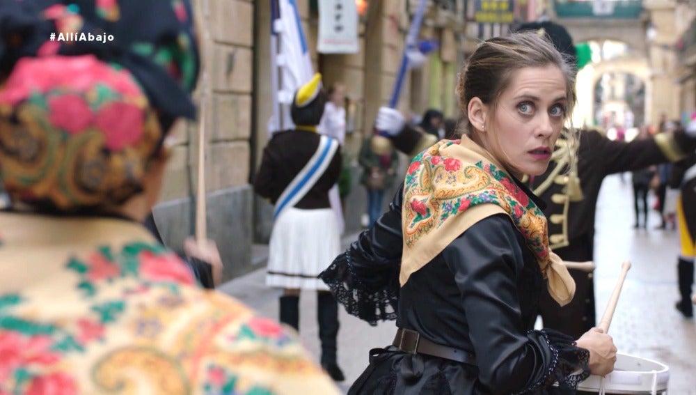 Carmen, invitada especial en La Tamborrada de Donosti