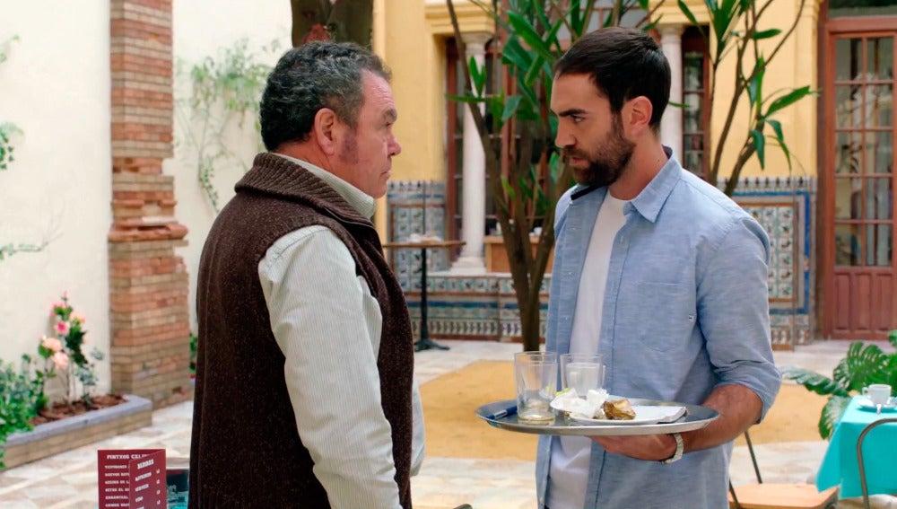 El mal comienzo entre Iñaki y el padre de Carmen