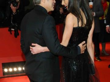 George y Amal Clooney en la Berlinale
