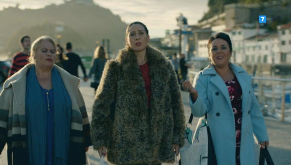 Las vecinas viajan a Euskadi