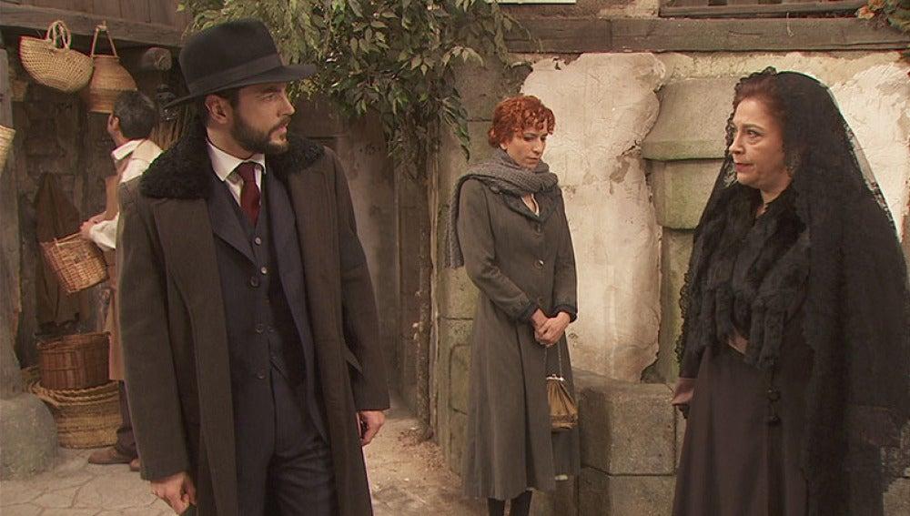 Francisca tiene un nuevo encontronazo con Hernando Doscasas