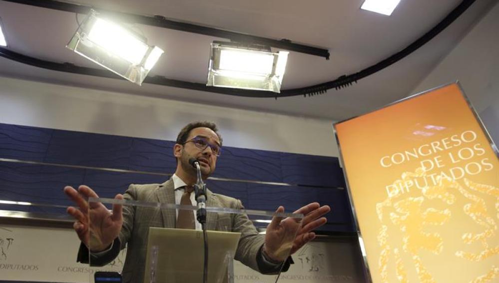 El portavoz del PSOE en el Congreso, Antonio HernandoEl portavoz del PSOE en el Congreso, Antonio Hernando