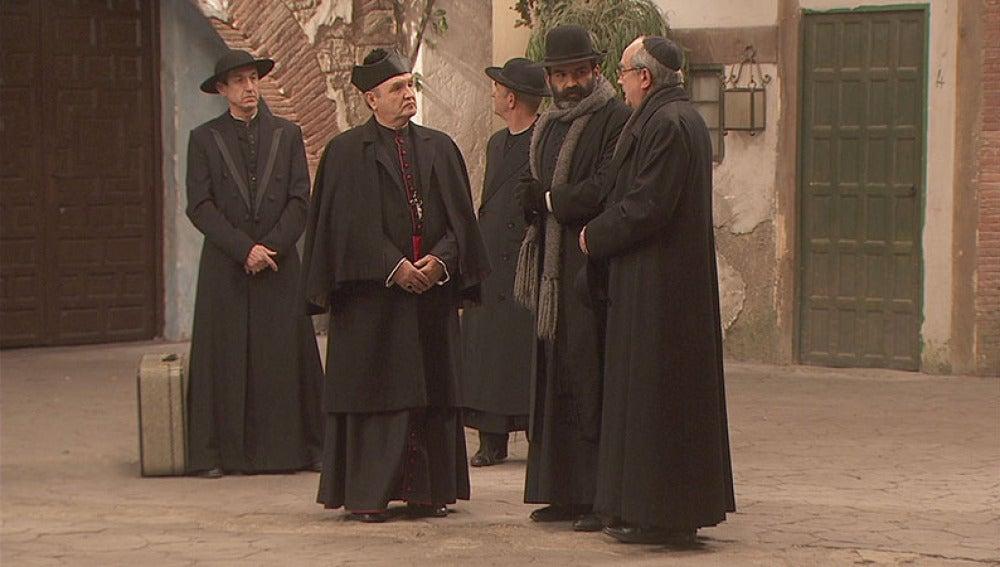 El obispo llega a Puente Viejo
