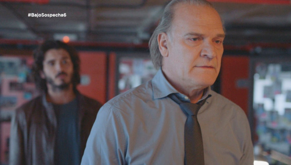 El comisario Casas y Víctor