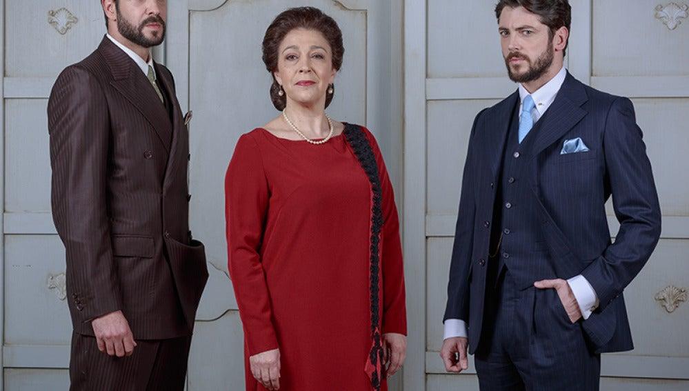 Severo, Francisca y Hernando