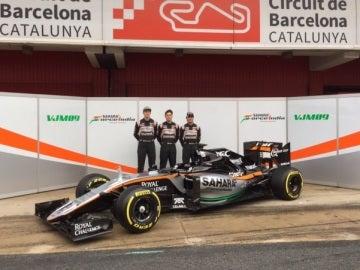 El VMJ09, el nuevo monoplaza de Force India