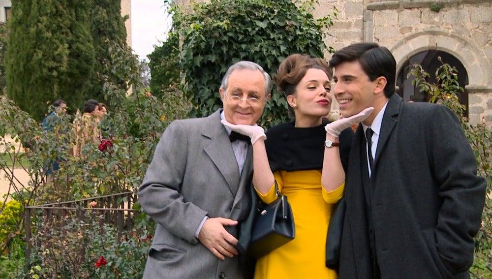 Nos colamos en el making of del enlace de Leonor y Miguel