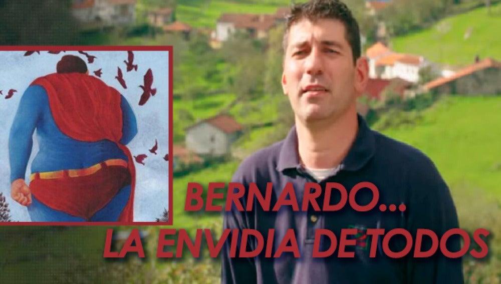 """""""A estas alturas, todos envidian a Bernardo"""""""