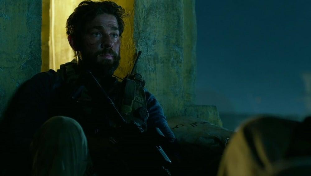 John Krasinski en '13 horas: Los soldados secretos de Bengasi'
