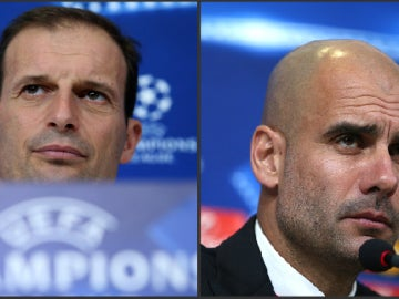 Allegri y Guardiola