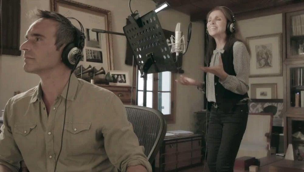 Así se grabó el tema musical de 'El secreto de Puente Viejo'
