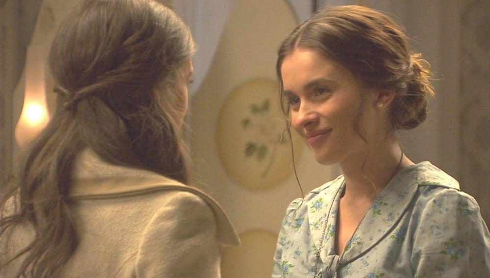 Prado se despide de Beatriz antes de partir