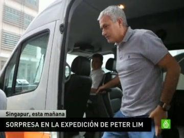 Mourinho, en la expedición de Peter Lim