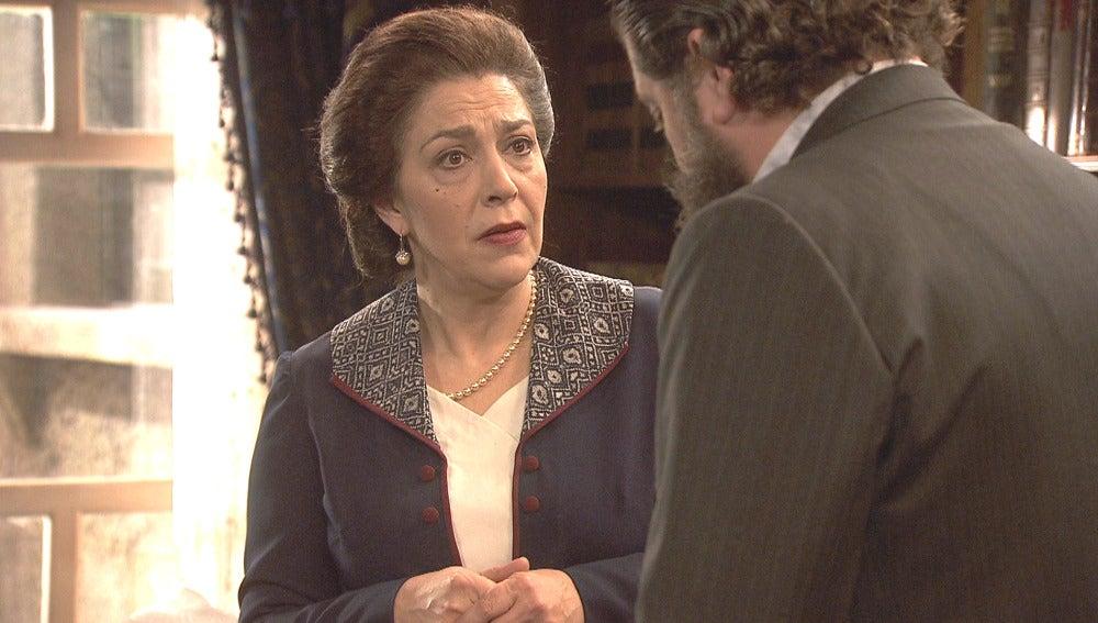 Francisca se entera de la proposición de matrimonio de Severo