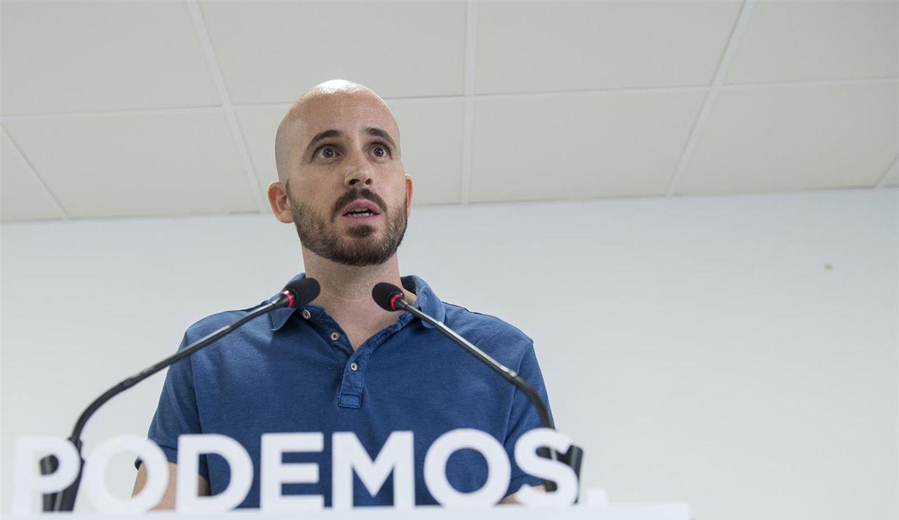 Nacho Álvarez, responsable económico de Podemos