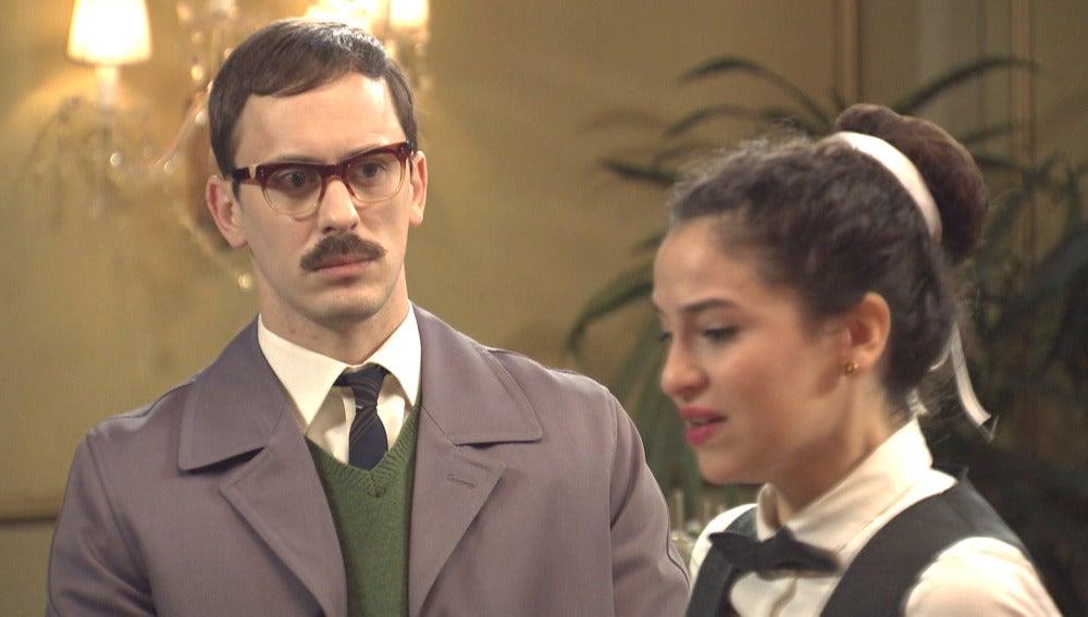 Carmen rechaza el acercamiento de Mariano Lasalle