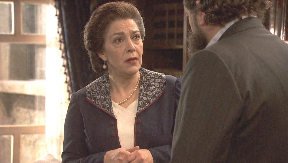 Francisca se enfurece al conocer la noticia del nuevo enlace