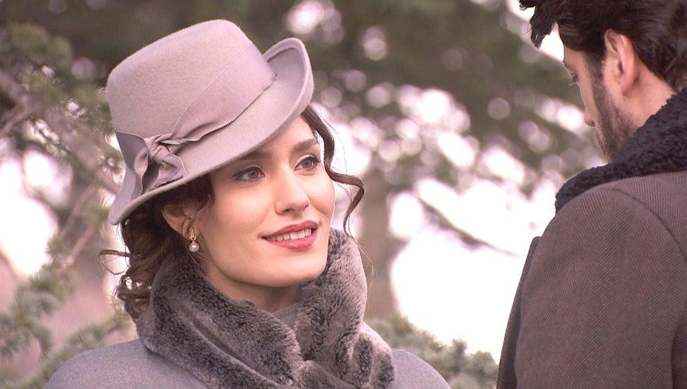 Camila siente la frialdad de su marido