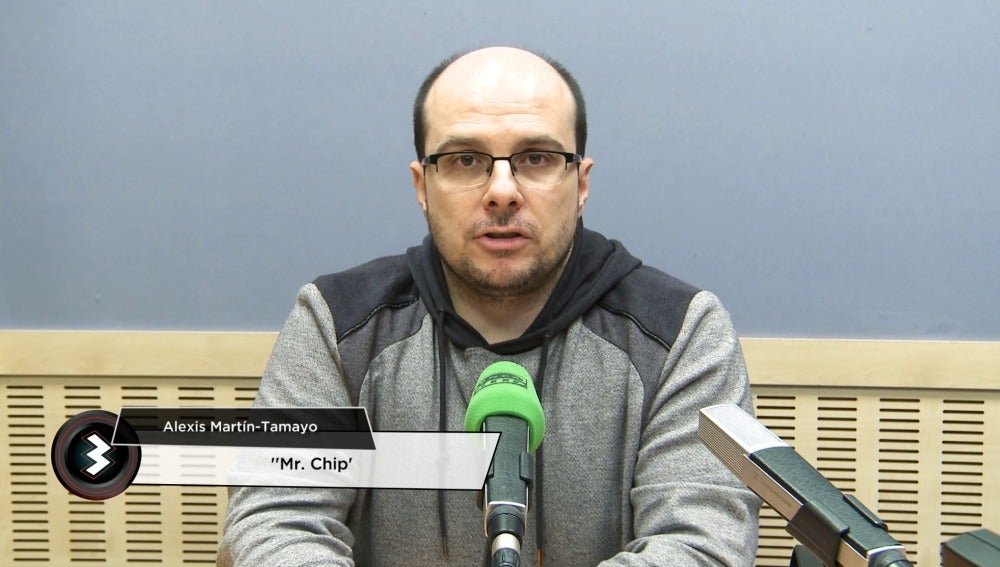 Alexis Martín Tamayo, Mister Chip