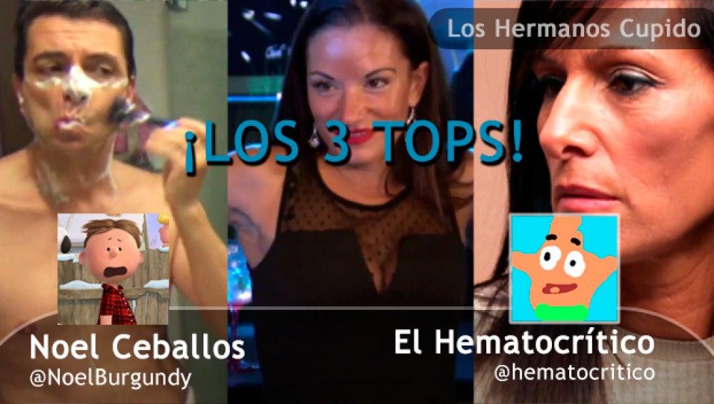 Sabrina flipa, Mónica se chiva y Pedro se afeita en los tres tops del programa