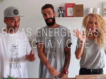 Bolas energéticas de Chía y Café veganas con: Juanma Furió y Azahara Luque - Juan Llorca