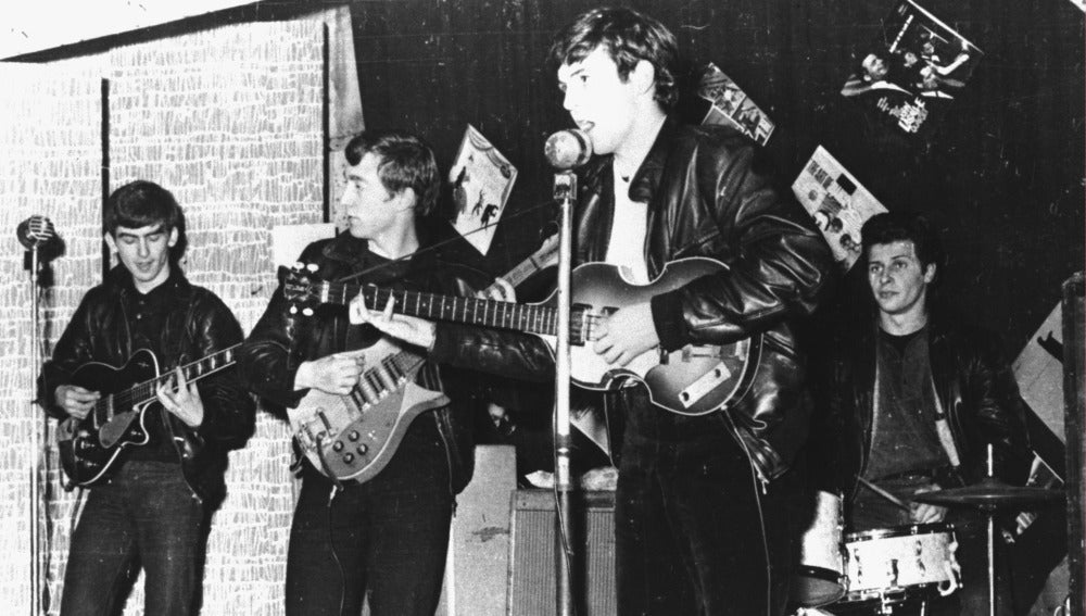 The Beatles, antes de saltar a la fama mundial