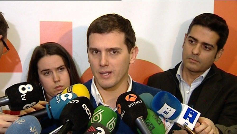 "Rivera sobre Rajoy: ""Ya que le ha dicho 'no' al Rey espero que no le diga 'no' a España"""