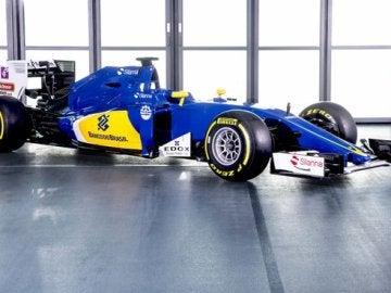 C35, el nuevo coche de Sauber para la Fórmula 1
