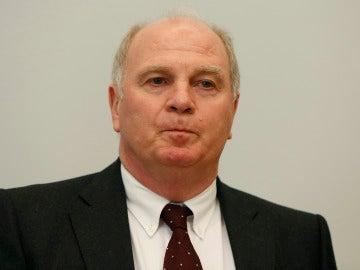 Uli Hoeness, expresidente del Bayern de Múnich