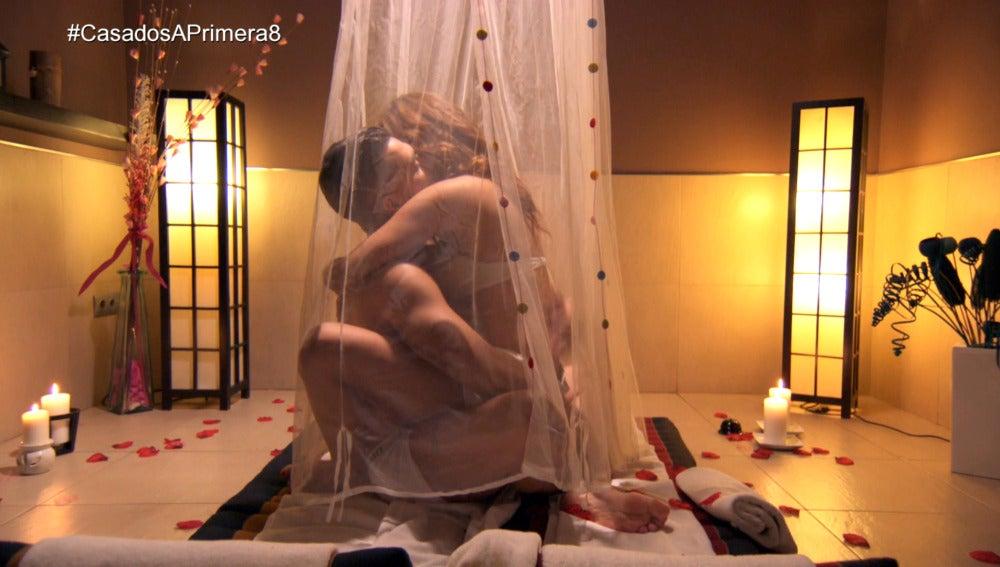 Tito sorprende a Cristina con una sesión de Tantra para trabajar el sexo y la confianza