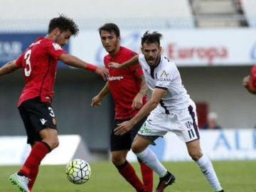 Huesca y Mallorca en el partido de la primera vuelta