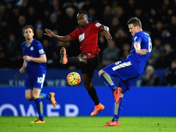 Leicester y West Brom empatan (2-2)