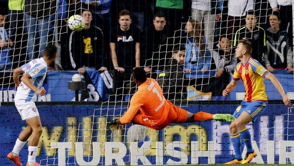 Kameni marca en propia puerta el empate del Valencia