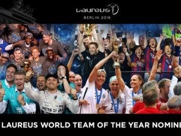 Los candidatos al Premio Laureus 2016 al mejor equipo