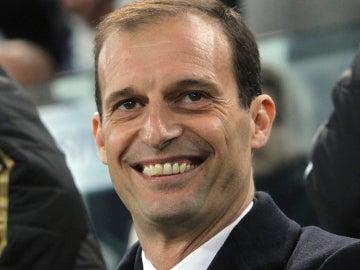 Allegri, entrenador de la Juventus de Turín