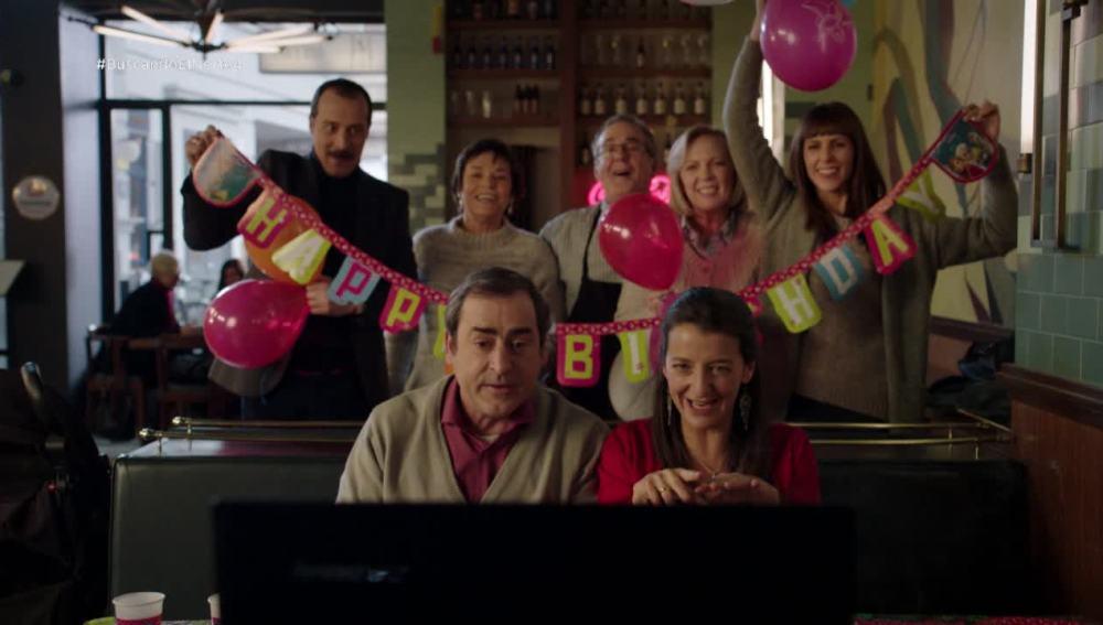 Chus y Jaime celebran el cumple de su hija en la distancia