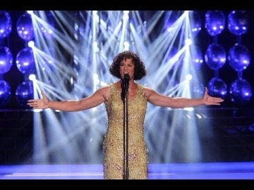 Daniel Diges imita a Whitney Houston