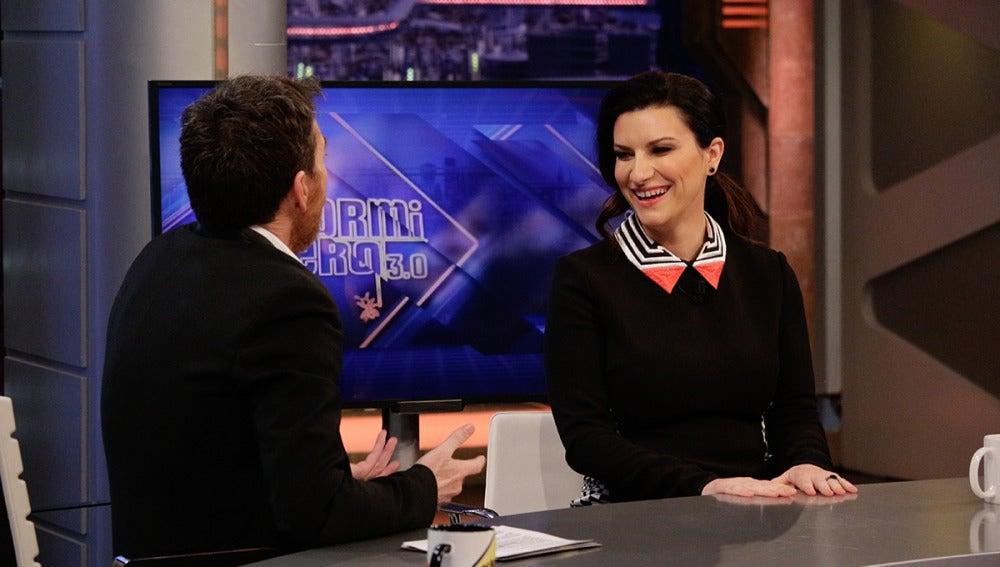 Laura Pausini en 'El Hormiguero 3.0'