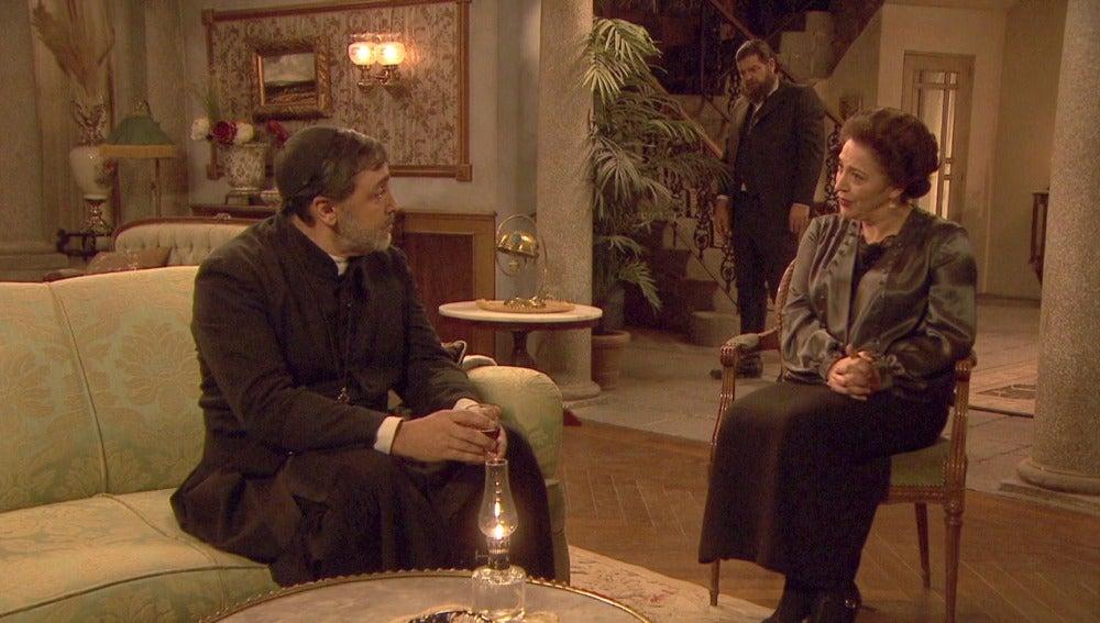 Francisca hace todo lo posible para arruinar la boda de los Santacruz