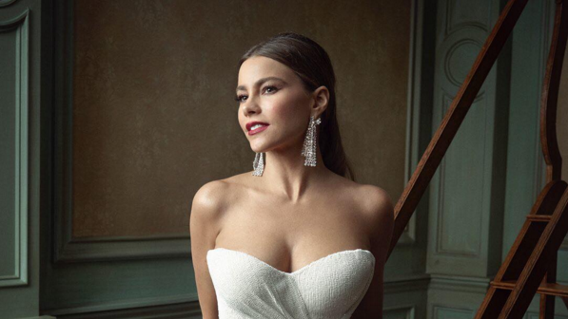 Sofia Vergara en la fiesta Vanity Fair post Oscar 2016