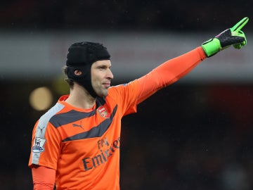 Cech, el portero del Arsenal