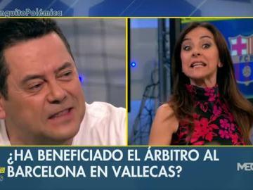 Carme Barceló y Tomás Roncero