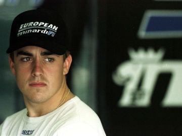 Fernando Alonso, en su época en Minardi