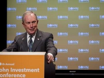 El ex alcalde de Nueva York Michael Bloomberg