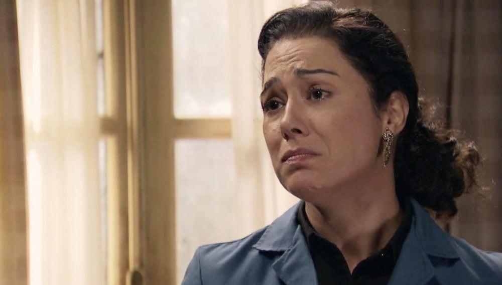 Pepa le pide a Toni que no se vaya a Barcelona