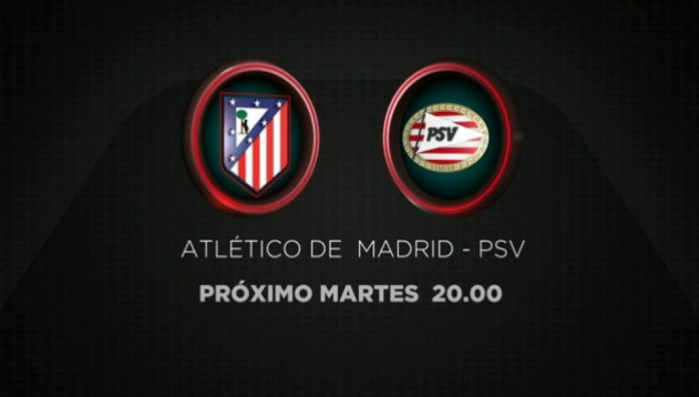 Atleti-PSV en Champions Total