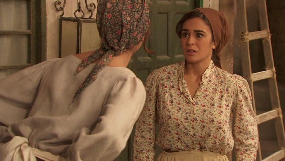 Mariana y Gracia, con una reforma entre manos