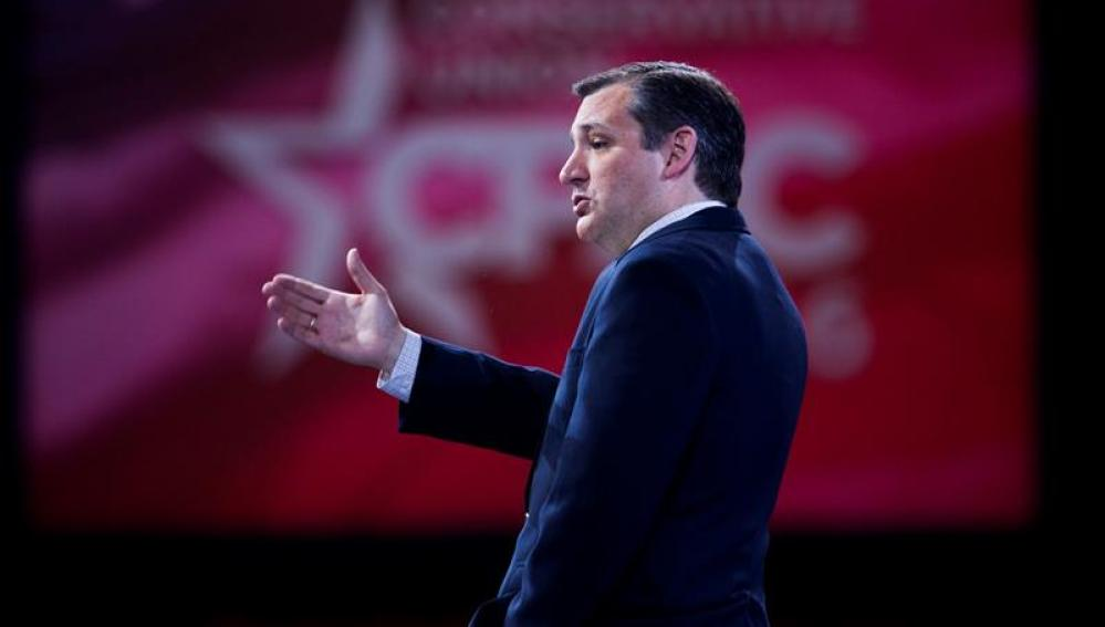El precandidato republicano a la Presidencia de EEUU, Ted Cruz