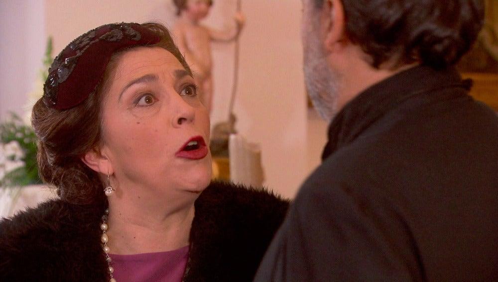 Puente Viejo C1280 - Francisca se da cuenta de que la boda no se celebrará en la iglesia